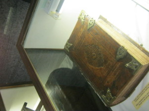 Book in a case