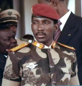 Thomas Sankara (Dec1949 -Oct 1987)